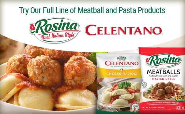 Try our full line of meatball and pasta products