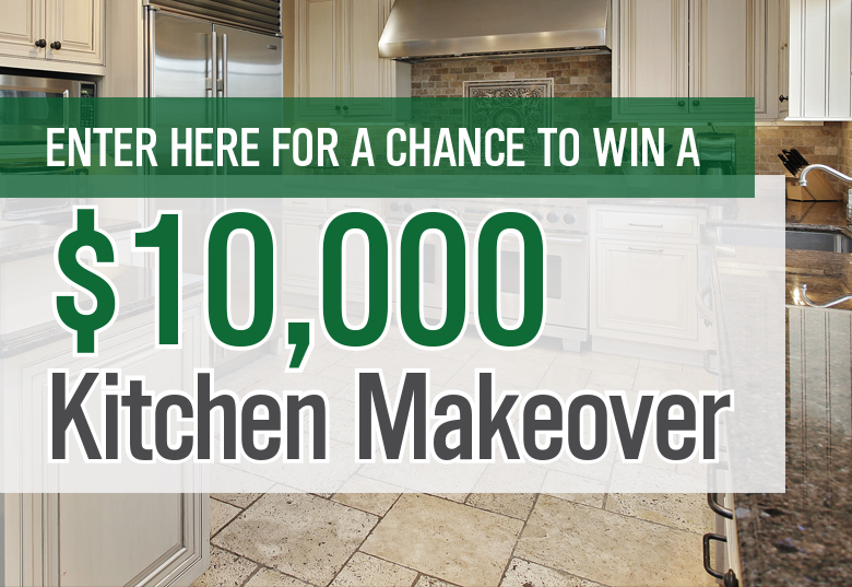 $10,000 Kitchen Makeover sweepstakes banner