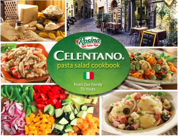 Celentano Pasta Salad Cookbook cover image