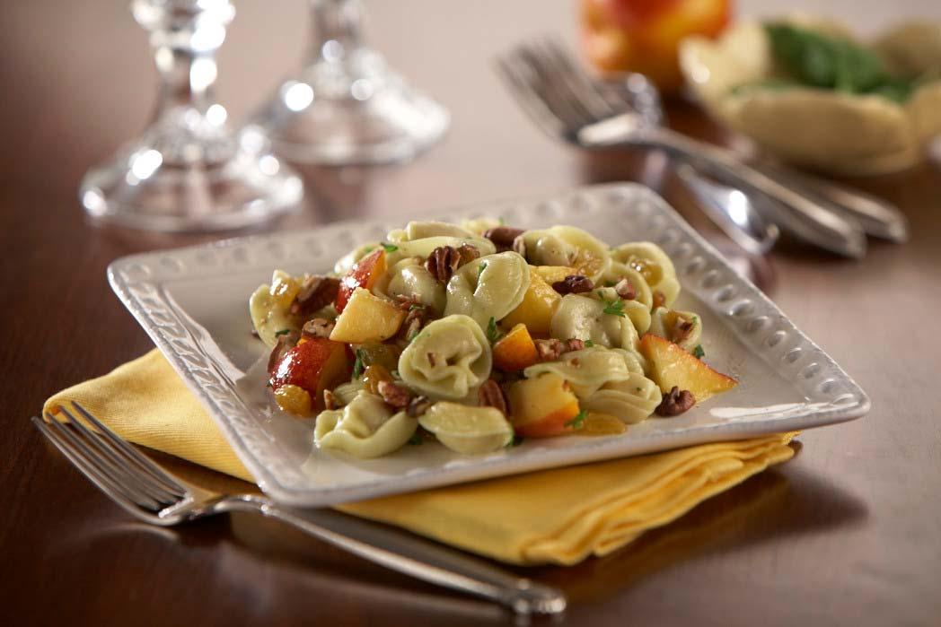 Ensalada de Durazno y Tortellini