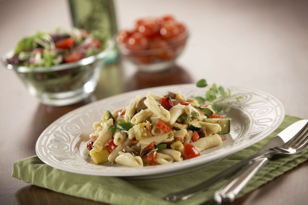 Cavatelli with Grilled Vegetables