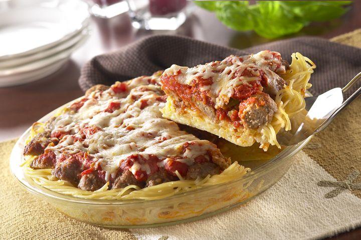 Pastel de Albóndigas y Espaguetis