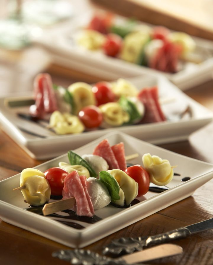Antipasto de Pinchos de Tortellini